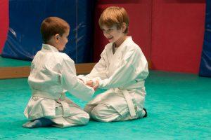 Детские тренировки по единоборствам