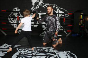 Занятия для детей в секции кикбоксинга в Москве на Алтуфьево